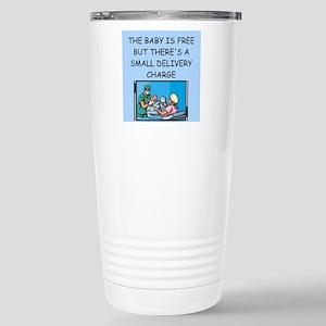 obstetricians Stainless Steel Travel Mug