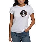 Tam's Tri Women's T-shirt, pocket area