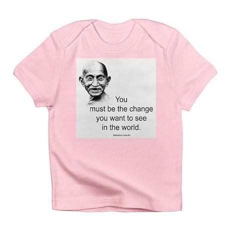 Gandhi - Be the Change Infant T-Shirt