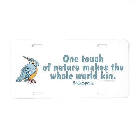 Shakespear Nature & Peace Quo Aluminum License