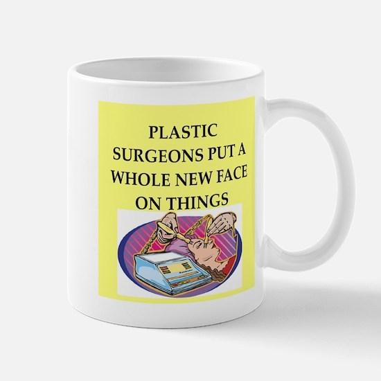 plastic surgeons Mug
