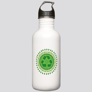 Recycle Sign Stainless Water Bottle 1.0L