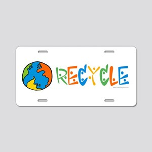 Colorful Recycling Aluminum License Plate
