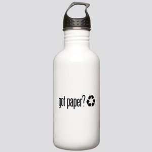 Paper Recycling Stainless Water Bottle 1.0L