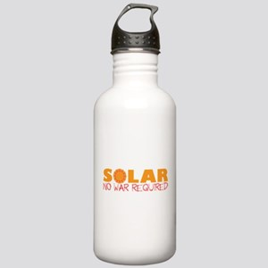 Solar Energy No War Stainless Water Bottle 1.0L