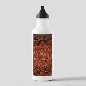 Compassion Mandala of Amoghapasa Water Bottle