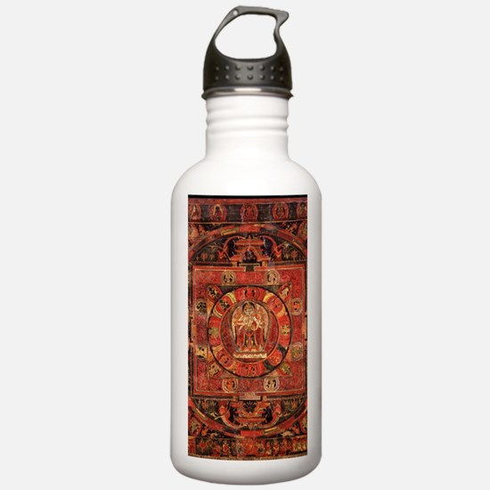Compassion Mandala of Amoghapasa Water Bottle