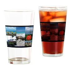 Sint Maarten Photo Drinking Glass