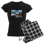 Sint Maarten Photo Women's Dark Pajamas