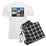 Sint Maarten Photo Men's Light Pajamas