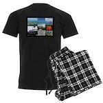Sint Maarten Photo Men's Dark Pajamas