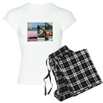 Bermuda Collage by Khoncepts Women's Light Pajamas