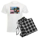 Bermuda Collage by Khoncepts Men's Light Pajamas