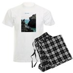 Bermuda Rock Formations by Kh Men's Light Pajamas