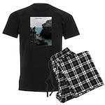 Bermuda Rock Formations by Kh Men's Dark Pajamas