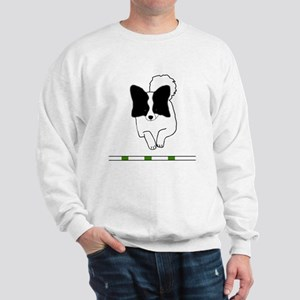 Black Papillon Sweatshirt
