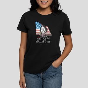Wise Latina - Women's Dark T-Shirt