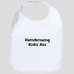Homebrewing Kicks Ass Bib