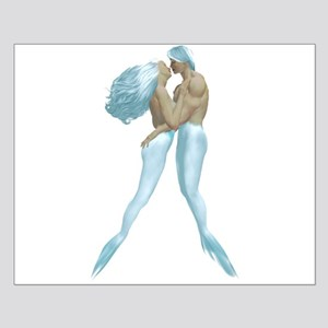 Merman & Mermaid Small Poster