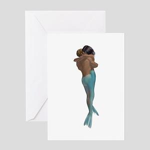 Merman & Mermaid Greeting Card
