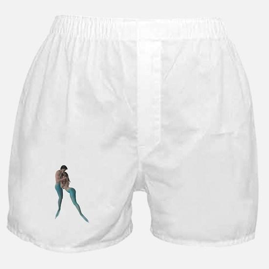 Merman & Mermaid Boxer Shorts