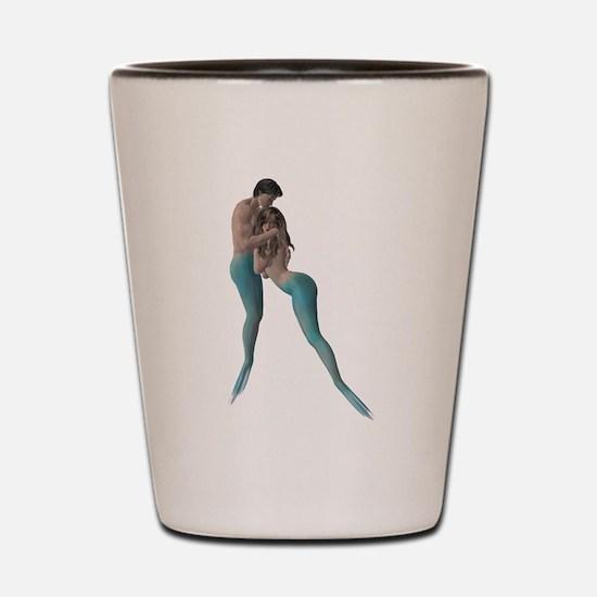 Merman & Mermaid Shot Glass