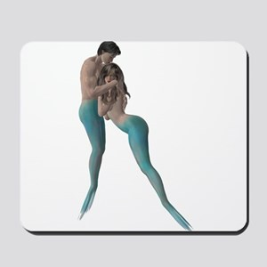 Merman & Mermaid Mousepad