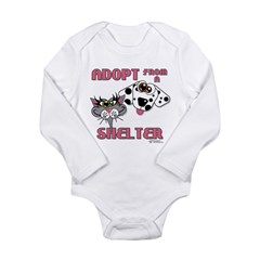 Adopt from a Shelter Baby Outfits
