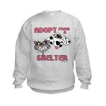 Adopt from a Shelter Kids Sweatshirt
