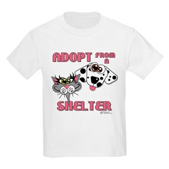 Adopt from a Shelter T-Shirt
