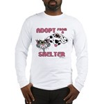 Adopt from a Shelter Long Sleeve T-Shirt