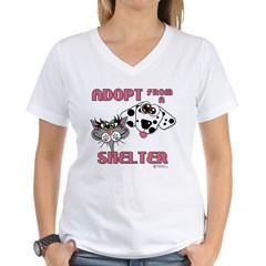 Adopt from a Shelter Shirt
