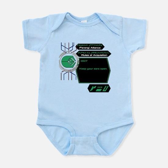 Rules of Acquisition 007 Infant Bodysuit