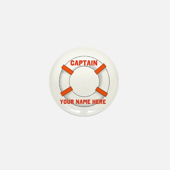 Customizable Life Preserver Mini Button