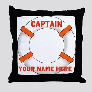 Customizable Life Preserver Throw Pillow