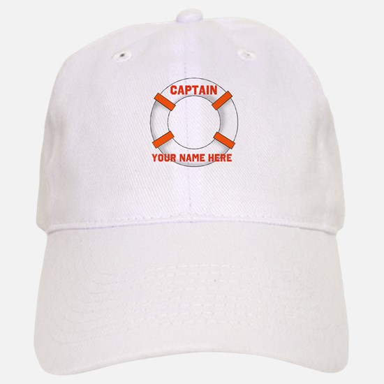 Customizable Life Preserver Baseball Baseball Cap