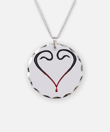 Cute Bleeding heart Necklace