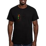 A Friend Men's Fitted T-Shirt (dark)