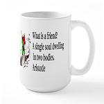 A Friend Large Mug