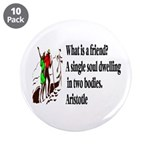 "A Friend 3.5"" Button (10 pack)"