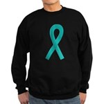Teal Ribbon Sweatshirt (dark)