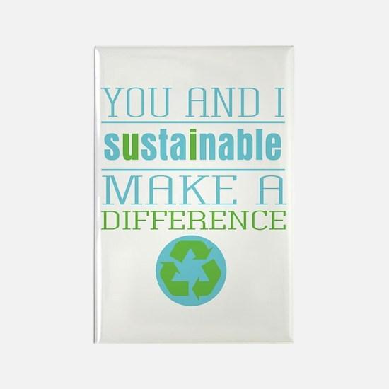 You and I Sustainabili Rectangle Magnet (100 pack)