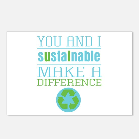 You and I Sustainability Postcards (Package of 8)