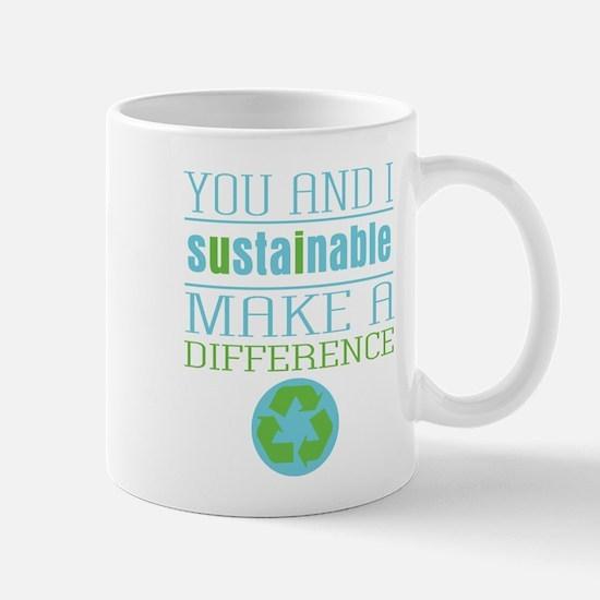 You and I Sustainability Mug
