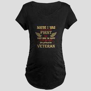 Right Now I'm Happy T Shirt, Maternity T-Shirt