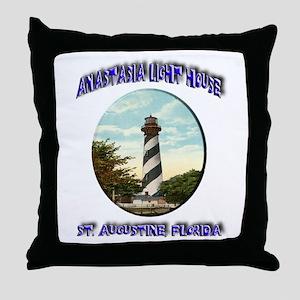 Anastasia Light House Throw Pillow