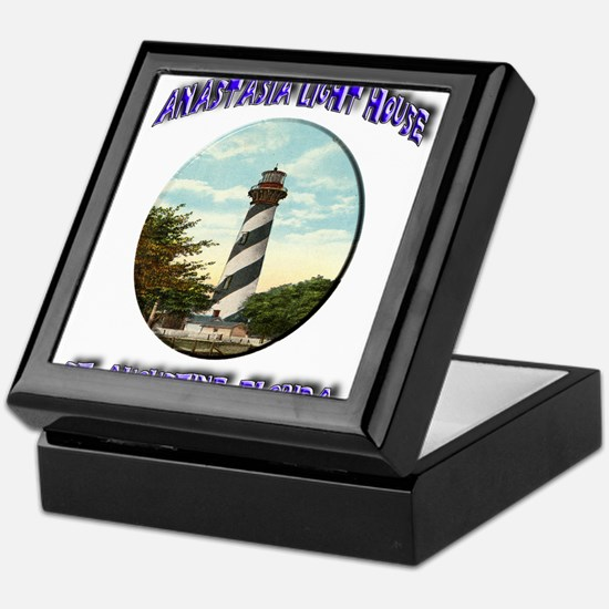 Anastasia Light House Keepsake Box