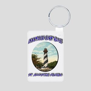 Anastasia Light House Aluminum Photo Keychain