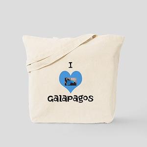 I love Galapagos Tote Bag