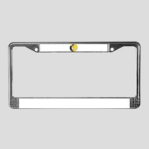 welder welding License Plate Frame